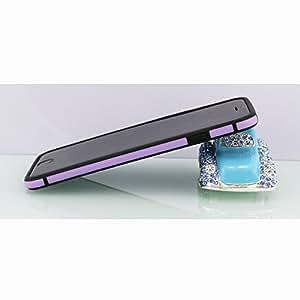 Kunyuhengxin for Apple iPhone 6 4.7inch Dual Color Ultra Thin TPU Bumper + PC Case Cover Skin