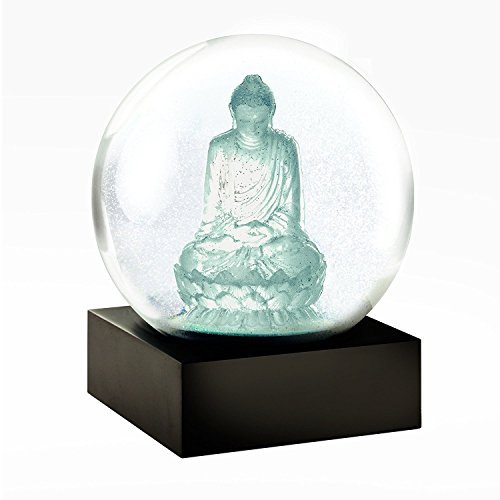 Snow Globe (Crystal Buddha) - zen Buddha snow globe
