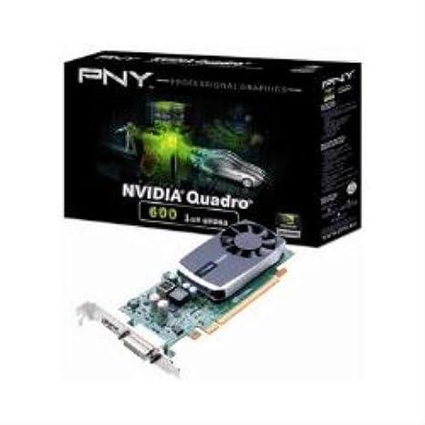 PNY VCQ600-PB 1GB GDDR3 - Tarjeta gráfica (1 GB, GDDR3, 128 ...