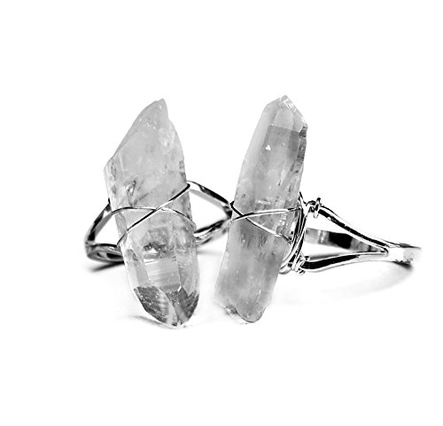 Crystal Wrapped Ring - 3