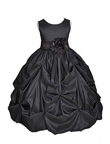 Zipper Taffeta Wedding Dress - 3