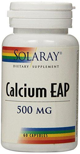 Solaray Calcium EAP Capsules, 500mg, 60