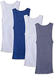Fruit of the Loom Men's Boys A-Shirts, Pack