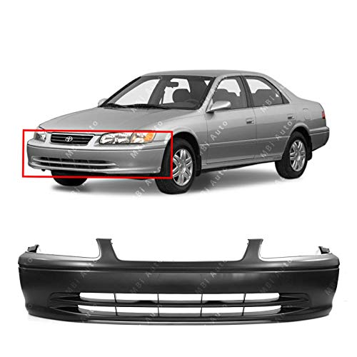 Cover Camry Toyota Bumper - MBI AUTO - Primered, Front Bumper Cover Fascia for 2000 2001 Toyota Camry Sedan 4-Door 00 01, TO1000206