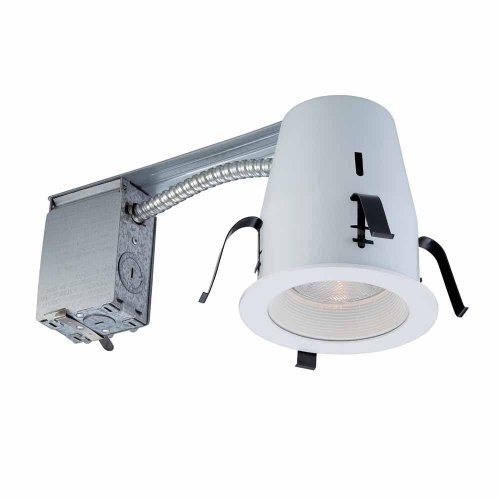 Ic Standard Non Lighting Recessed - Commercial Electric 4 in. Non-IC Remodel Recessed Lighting Kit K18
