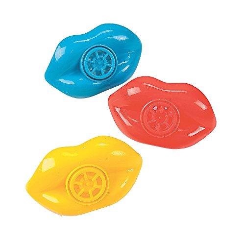 Funn Games (Plastic Lip Whistles (12 Pack) 2 1/2