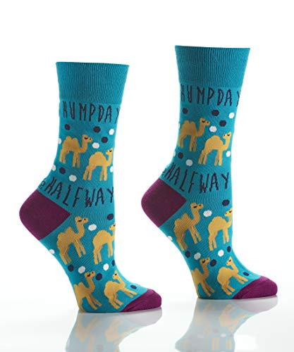 Yo Sox Women's Crew Sock, Humpday