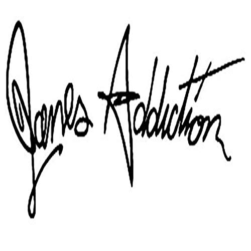 Janes Addiction Rock Band - Vinyl Decal Sticker Car Decal Bumper Sticker for Use on Laptops Windowson Water Bottles Laptops Windows Scrapbook Luggage Lockers Cars Trucks