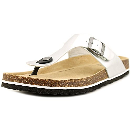 Silver Toe Laura Too Casual Split Slide Womens JBU Sandals IFBx88