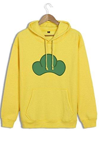 Unisex Osomatsu-san Candy Color Pullover Hoodies