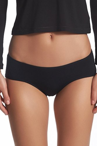 Tani USA Women's SilkCut Hip Hugger Panties, Soft and Breathable, Size Large, (Soft Hip Hugger)