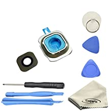 Ewparts Back Rear Camera Lens Cover Repair Replacement for Samsung Galaxy S6 G920f G920t with Repair Tools Kit Color Gold