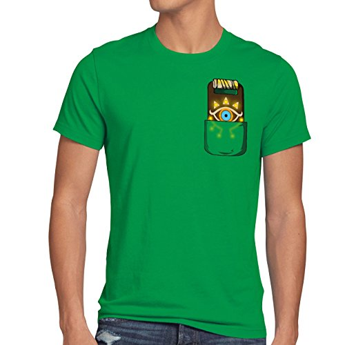 Vert Breath Snes Ocarina T Homme shirt Switch Wild Sheikah Link t Of Tablette A n The Zelda U7wxqafWv