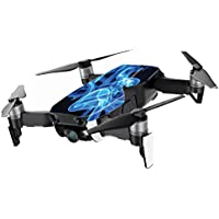 MightySkins Skin for DJI Mavic Air Drone - Blue Flames | Min Coverage Protective, Durable, and Unique Vinyl Decal wrap cover | Easy To Apply, Remove, and Change Styles | Made in the USA