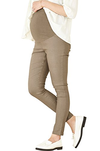 Sweet Mommy Stretchy Skinny Leg Maternity Colored Pants (3L, Vintage ()