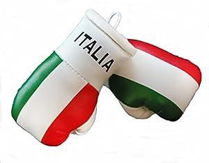 Mini Boxhandschuhe ITALIEN, 1 Paar (2 Stück) Miniboxhandschuhe z. B. für...