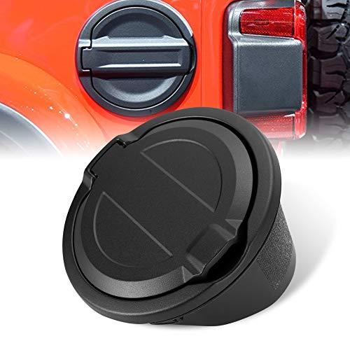 Door Cover Gas Tank Cap for 2018 Jeep Wrangler JL Unlimited 2 Door and 4 Door Black ()