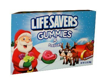Christmas Lifesaver Gummies - Stocking Stuffer - One Pack