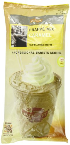 Frappe Mix (MOCAFE Frappe Caramel, Ice Blended Coffee, 3-Pound Bag)