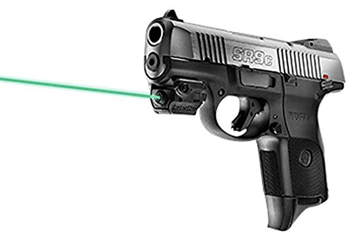 LaserMax Micro UniMax Green Laser Fits Picatinny Black Finish With Battery by L&M