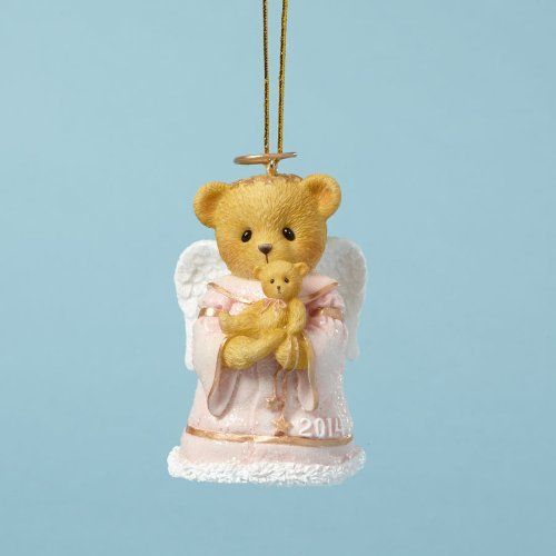 Cherished Teddies Collection Pink Bear Dated 2014 Ornament