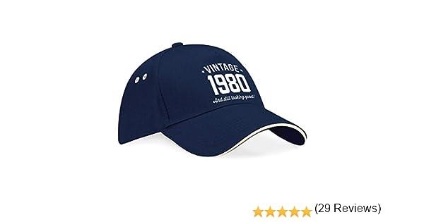 Gorra de béisbol de 40 cumpleaños - Para hombre y mujer - Como ...