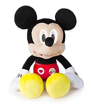 IMC Toys Mickey Peluche Interactivo emociones 45cm, Color Variados, M-EU Tamaño 40