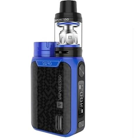 Vaporesso Swag (Azul) 80W TC Kit con NRG SE Mini Tanque 2ml, Este producto no contiene nicotina ni tabaco