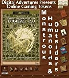 Gaming Tokens Pack #9: Monstrous Humanoids & Outsiders for Fantasy Grounds II