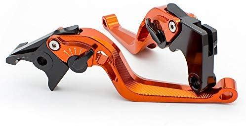 For Yamaha Raptor 700R YFZ450 19 3D Fringed Clutch Brake Levers Adjustable Hollow