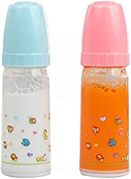 Magic Baby Bottles - 2 Bottles, 1 Milk and 1 Juice especially bigger sized for toddlers