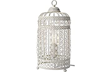 Heart of house birdcage table lamp white amazon kitchen heart of house birdcage table lamp white amazon kitchen home aloadofball Image collections