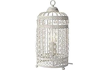 Heart of House Birdcage Table Lamp - White.: Amazon.co.uk: Kitchen ...
