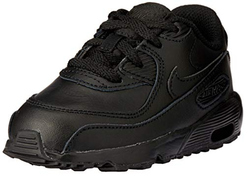 Nike Air Max 90 LTR (TD) Toddler Shoes Black/Black 833416-001 (9 M US)