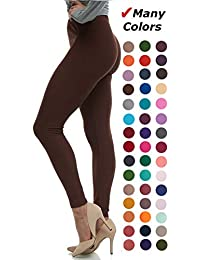 Women's Ultra Soft Leggings Stretch Fit 40+ Colors - One...