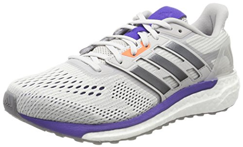 adidas BB34-86, Chaussures de Gymnastique Femme, Blanc (Grey One F17/Night Met. F13/Energy Ink F17), 37 1/3 EU