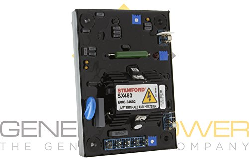 Stamford SX460 AVR P.N E000-24602-1P | 100% Original | 1 Year International Warranty | 100% Manufactured in the UK (Uk Alternators)