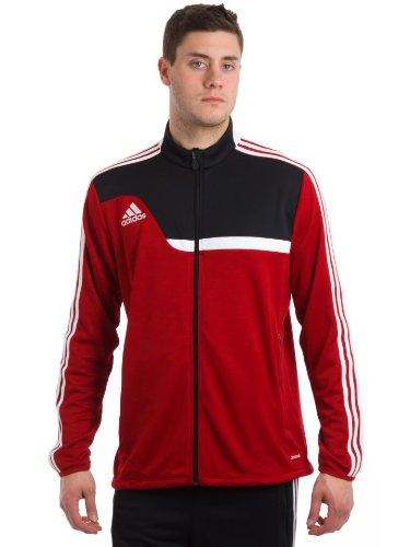Adidas Men's Tiro 13 Training Jacket, University Red/Black/White, (Adidas Tiro Training Jacket)