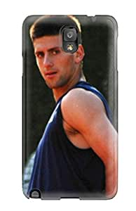 Fashionable Style Case Cover Skin For Galaxy Note 3- Novak Djokovic Pictures