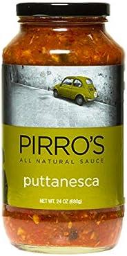 PIRRO'S All Natural Puttanesca Pasta Sauce, Gluten Free, Keto Friendly, 24 o