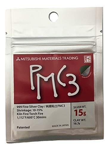 - Mitsubishi PMC3 Precious Metal Clay Silver 15 Grams