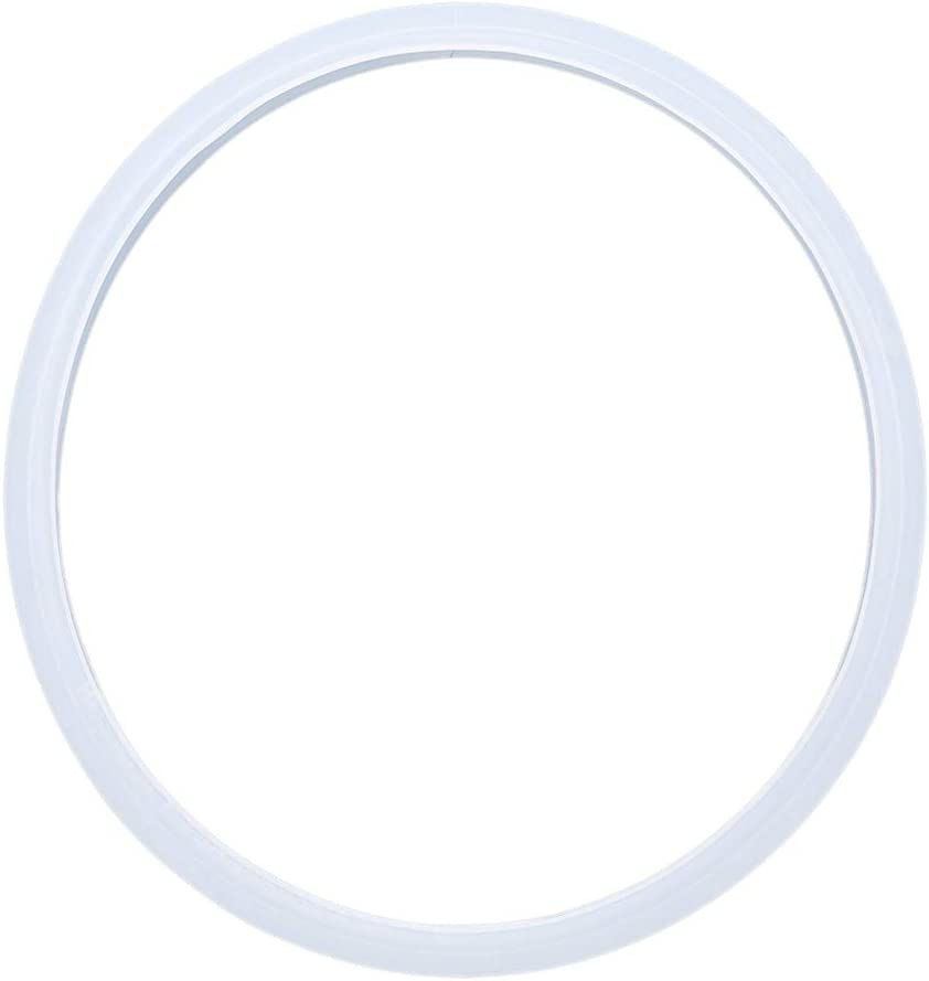 Sevenfly Pressure Cooker Sealing Ring Food Grade Silicone Quart Gasket Accessories Replace,Transparent 18cm