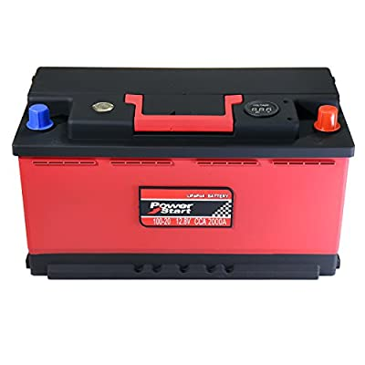 LiFePO4 Car Battery and Lithium Ion Deep Cycle Battery 12 Volt for Replacing AGM Battery, 1000+ CCA, 100Ah (Total 12 Models)