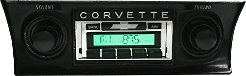 1968-1976 Chevrolet Corvette Custom Autosound USA-230 AM/FM Stereo Radio 200 watts 1970 Chevrolet Chevy