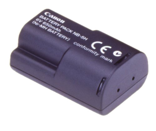 Canon NB-5H NiMH Battery Pack for Canon S10, S20, A50, A5 Zoom and A5 Digital Cameras