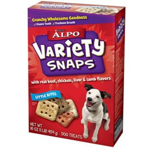 Alpo Variety Snaps Treats with Real Meat, My Pet Supplies