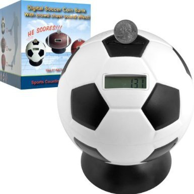 TG Soccer Ball Digital Coin Counting Bank by TG