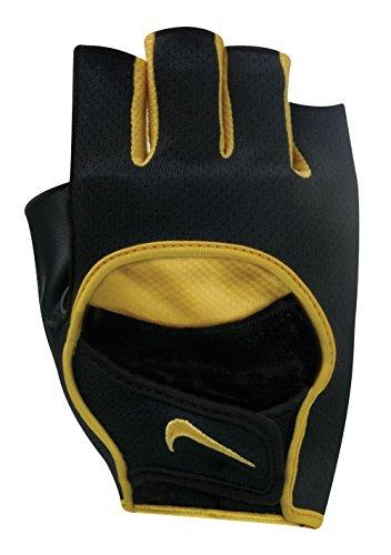 (NIKE Men's Cycling Glove II (Large, Black/Flint Grey/Varsity)