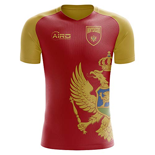 Airo Sportswear 2018-2019 Montenegro Home Concept Football ()