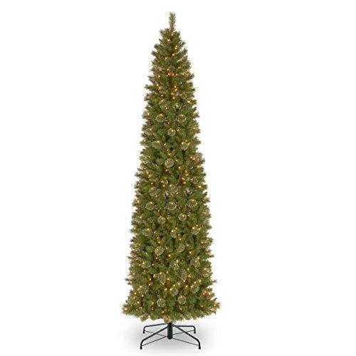National Tree Tacoma 12 Foot Pine Pencil Slim Tree
